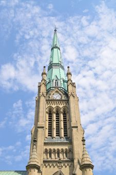 Free Church Tower Stock Image - 21026121