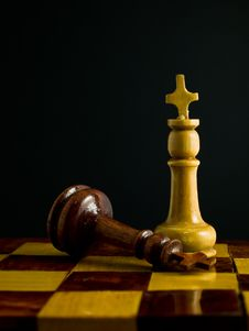 Free Wooden Chess Royalty Free Stock Photos - 21026448