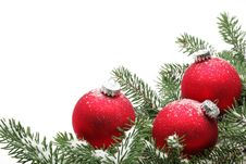 Free Christmas Decoration Royalty Free Stock Photos - 21027058