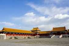 Free Ancient Building Of Forbidden City Stock Photography - 21027382