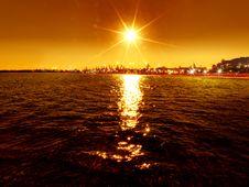 Free Sunset Royalty Free Stock Photography - 21028257