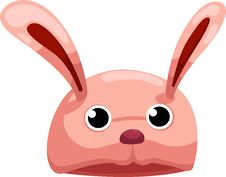 Free Hat Rabbit Vector Royalty Free Stock Photos - 21028748