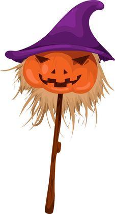 Free Halloween Pumpkin Vector Stock Images - 21028784