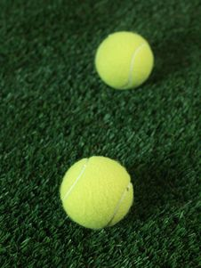 Free Tennis Balls Stock Photos - 21029173