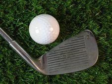 Free Golfing Royalty Free Stock Image - 21029346