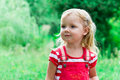 Free Beautiful Girl In The Meadow Royalty Free Stock Photo - 21031345