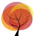 Free Abstract Autumn Tree Royalty Free Stock Images - 21033579