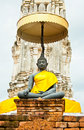 Free Black Buddha Image At A Temple Royalty Free Stock Photography - 21038387