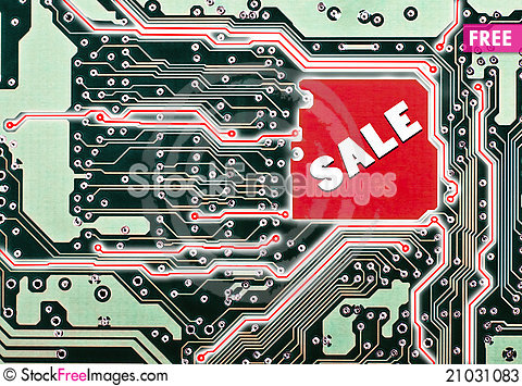 Free A Circuit Board For A Sale Stock Photos - 21031083