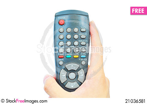 Free Remote Control Stock Image - 21036581