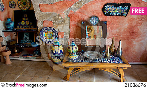 Free Old Antique Interior Royalty Free Stock Image - 21036676