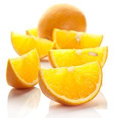 Free Orange Slices. Royalty Free Stock Photography - 21030097