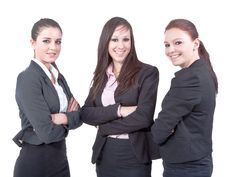 Free Businessladies On The Rise Stock Images - 21030184