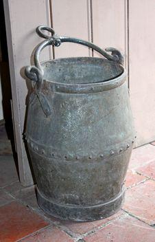 Free Metal Bucket. Royalty Free Stock Images - 21030219