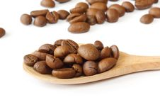 Free Coffee Grains Stock Photography - 21030422