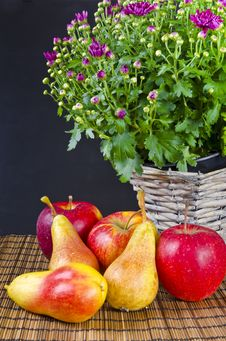 Free Fruit With Flowers Stock Photo - 21030530