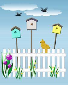Free Birdhouse Vigil Stock Image - 21031011