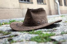 Free Hat On The Street Royalty Free Stock Images - 21031189