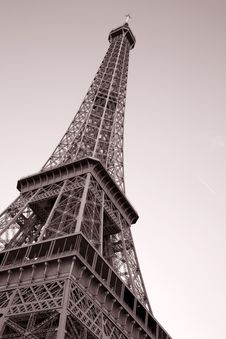 Free Eiffel Tower In Paris Royalty Free Stock Image - 21031596