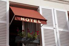 Free Hotel Sign Stock Image - 21031651