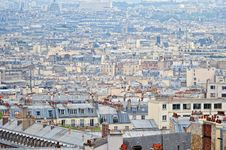 Free Above Paris Stock Photo - 21031850