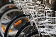 Free Baskets Bike Royalty Free Stock Photos - 21031908