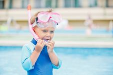 Free Boy Playing In A Pool Of Water Royalty Free Stock Photo - 21032685