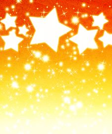 Free Stars Background Royalty Free Stock Images - 21032789