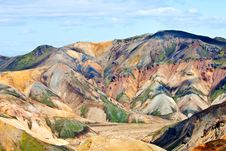 Free Colorful Mountain Landscape Stock Photography - 21032862