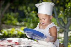 Free Little Cook. Stock Photography - 21033222