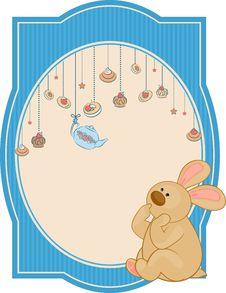 Free Sweet Cakes And Rabbit Stock Photo - 21033250