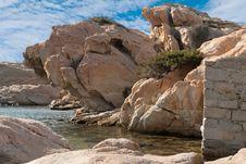 Free Granite Rocks In Sardinia Royalty Free Stock Photography - 21033977