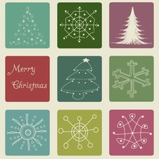 Free Christmas Card Royalty Free Stock Images - 21034259
