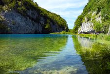 Free Plitvice Lakes National Park (Croatia) Royalty Free Stock Photography - 21035507