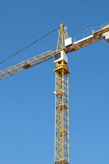 Free Crane Royalty Free Stock Image - 21035886