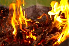 Free Flame Of Fire Stock Photo - 21036240