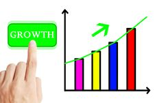 Free Growth Graph Stock Photo - 21036260