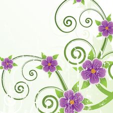 Free Floral Design. Vector Illustration Stock Photo - 21036510