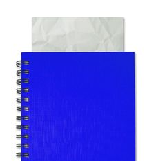 Free Blue Notebook Royalty Free Stock Photos - 21036518