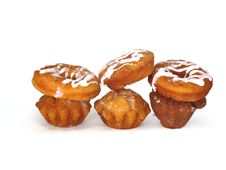Donuts And Rolls Royalty Free Stock Image