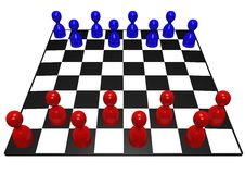 Free Pawn Chess Game Stock Image - 21037961