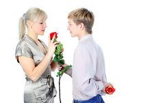 Free Valentine Day - Time For Gift, Stock Photos - 21039193