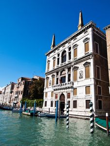 Free View Of Grand Canal , Venice Italy Royalty Free Stock Photography - 21039287