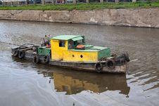 Free Tugboat Stock Image - 21039731