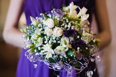 Free Wedding Bouquet Of The Bride Stock Photography - 21039932