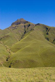 Free Green Mountain Royalty Free Stock Photo - 21039945
