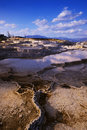 Free Mammoth Hot Springs Royalty Free Stock Photography - 21045027