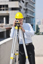 Free Architect On Construction Site Stock Image - 21045361