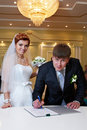 Free Solemn Registration Of Marriage Royalty Free Stock Image - 21045506