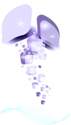 Free Vector Blank Square Ice Stock Image - 21040091